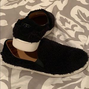 UGG 8 Fuzzy Slip-on Shoes